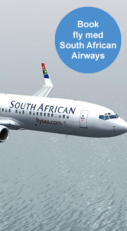 Boka flyg med south african airways
